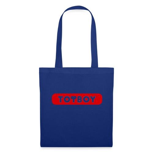 toyboy logo red - Stoffbeutel