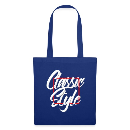 Classic style B - Bolsa de tela