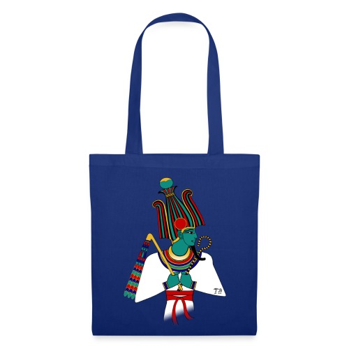 ÄGYPTEN - Osiris - altägyptische Gottheit - Stoffbeutel
