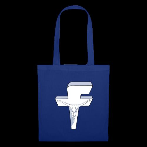Facebook Crucifixion - Tote Bag