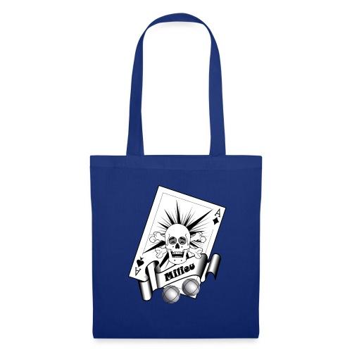 t shirt petanque milieu crane rieur as pointe tir - Tote Bag