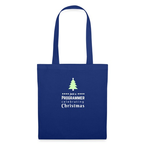 Funny Christmas t shirt for the progrmmers - Tote Bag