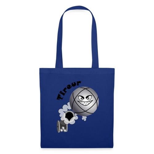 t shirt pétanque tireur boule existe en pointeur N - Tote Bag