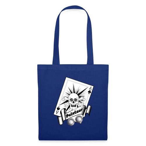 t shirt petanque pointeur crane rieur boules - Tote Bag