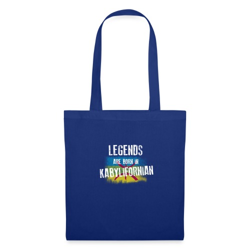Legends are born in kabylifornian - Tote Bag
