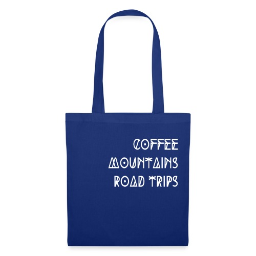 Coffee Mountains Road Trips - by PASSENGER X - Stoffbeutel