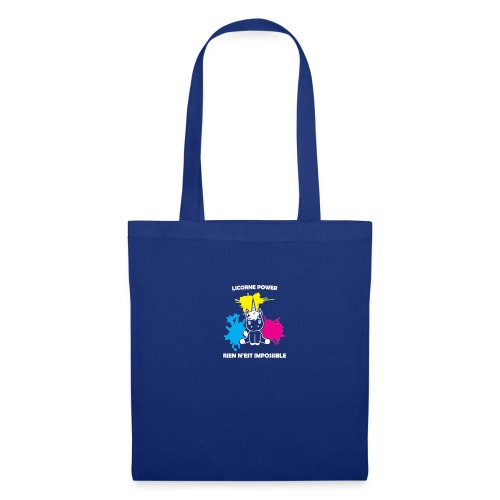 Stickers licorne - Tote Bag