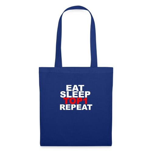 EAT SLEEP TOP 1 REPEAT - Tote Bag