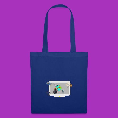 Ordinateur sous influence de Planète GEEK - Tote Bag