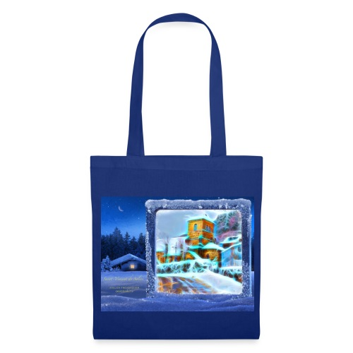 eglise neon - Tote Bag