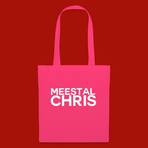 MeestalChris Logo shirt - Tas van stof