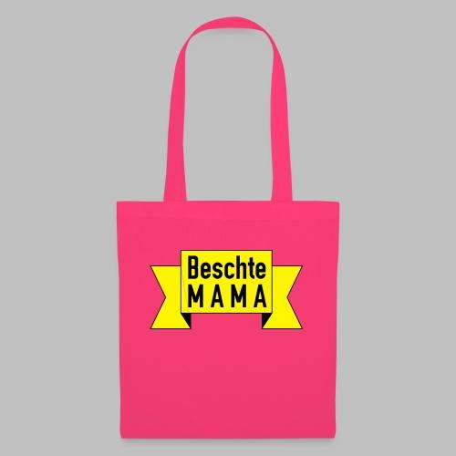 Beschte Mama - Auf Spruchband - Stoffbeutel