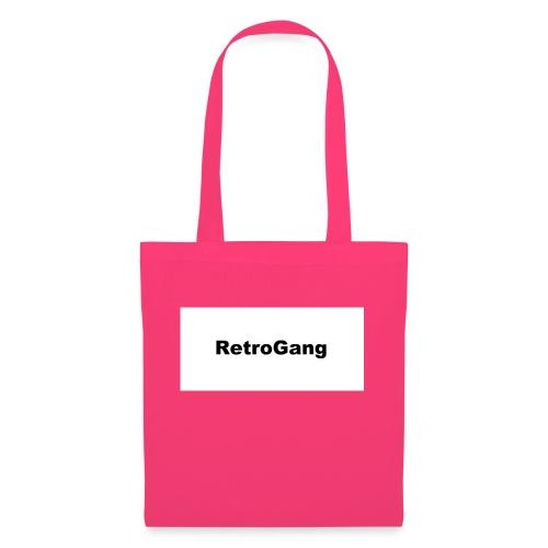 T-shirt retro gang - Tas van stof