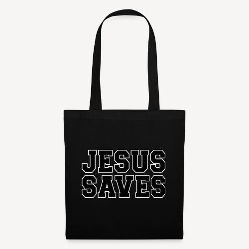 JESUS SAVES - Tote Bag