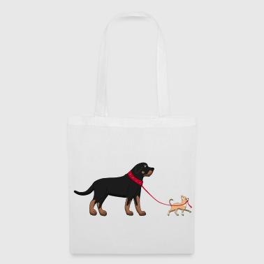 Rottweiler & Chihuahua 2 - Kangaskassi