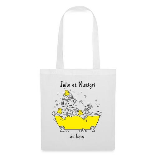 Julie et Mistigri au bain - Tote Bag