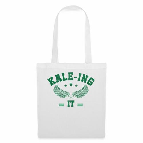 Kale - ing it - Veganer Geschenkidee - Stoffbeutel