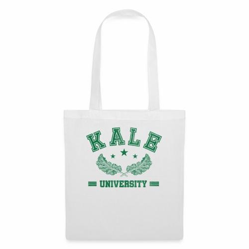 Kale University - Lustige Veganer Geschenkidee - Stoffbeutel