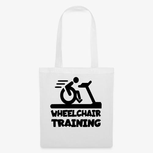 Rolstoel training 001 - Tas van stof
