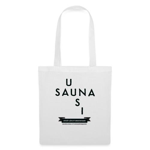 Uusi Sauna - Valkea - Kangaskassi