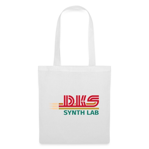 DKS SYNTH LAB Flat Red-Green - Borsa di stoffa