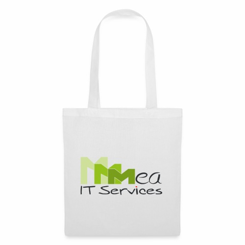 mea IT Services weiß - Stoffbeutel