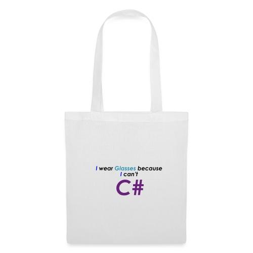 Can't C# - Borsa di stoffa