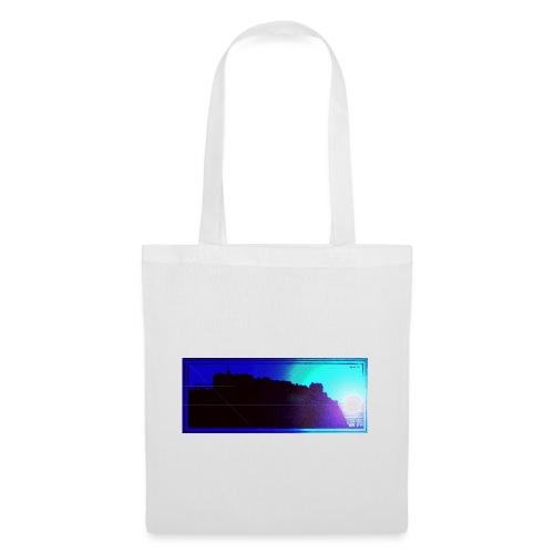 Silhouette of Edinburgh Castle - Tote Bag
