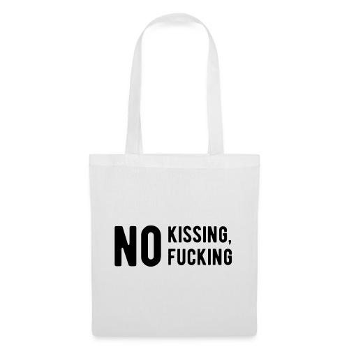 pas de baisers, pas de putain - Sac en tissu