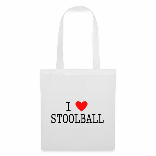 I Love Stoolball - Tote Bag