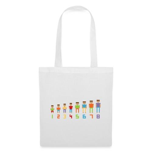 pixelbasischool - Tas van stof