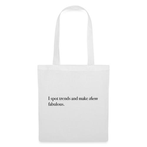 SPOT TRENDS - Tote Bag