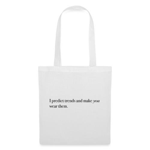 PREDICT TRENDS - Tote Bag