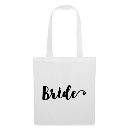 Bride - Stoffbeutel
