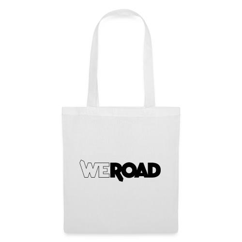 WeRoad logo nero - Borsa di stoffa