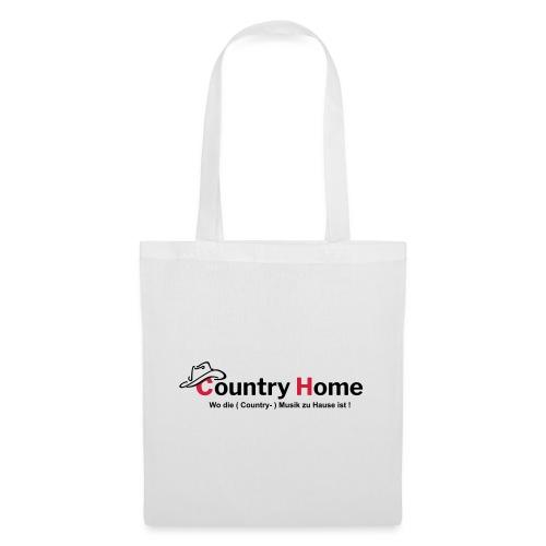 CountryHome Logo mit Slogan (Deutsch) - Stoffbeutel