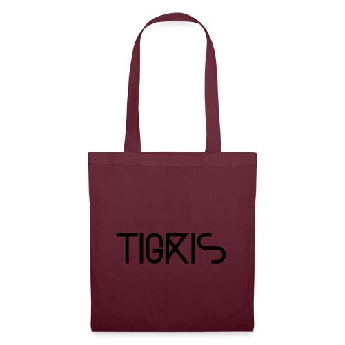 Tigris Vector Text Black - Tote Bag