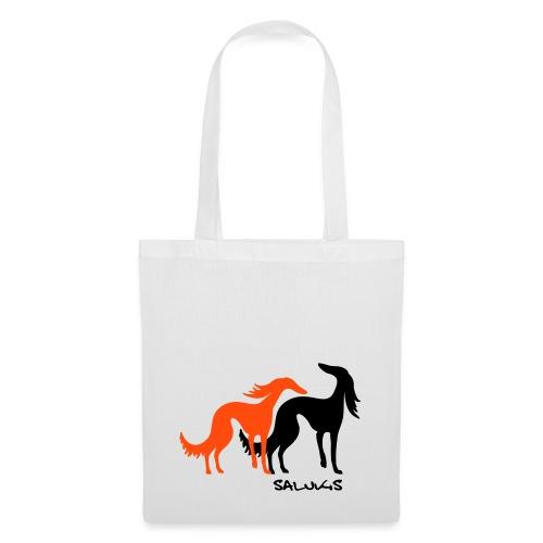 salukis couple txt - Tote Bag