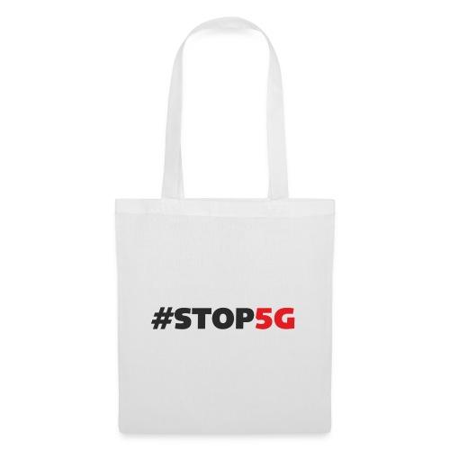 Stop5G linea logo - Borsa di stoffa