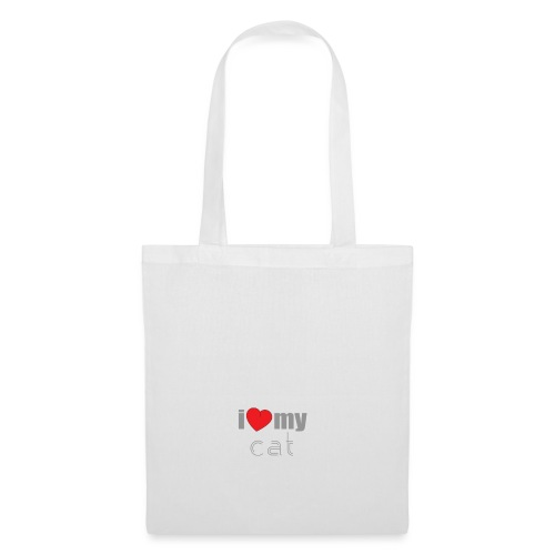 i love my cat - Tote Bag