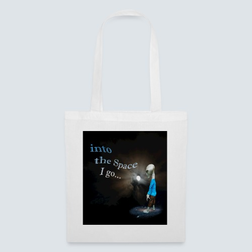 into the space - Tote Bag