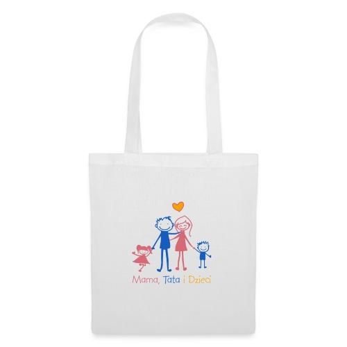 Mama Tata i Dzieci - Torba materiałowa