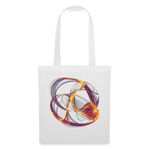Watercolor art graphic painting image 13997 inferno - Tote Bag