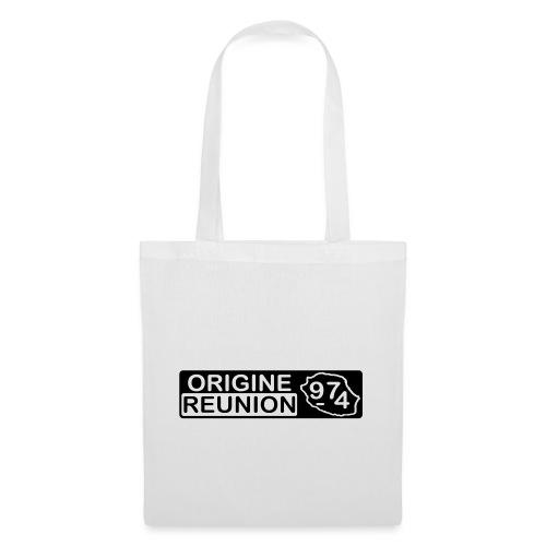 Origine Réunion 974 - v2 - Sac en tissu