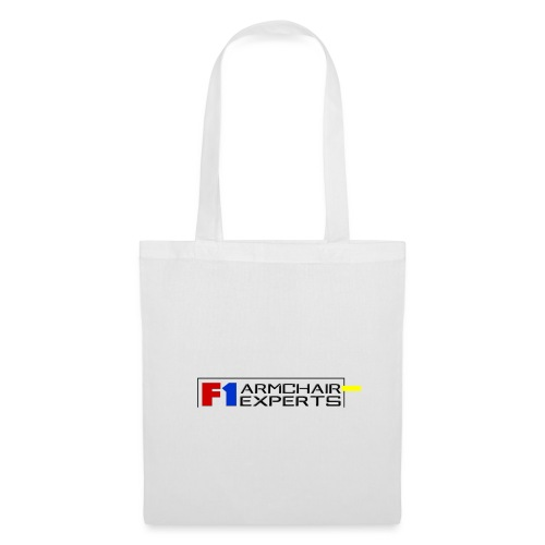 F1 Armchair Experts Logo BK - Tote Bag