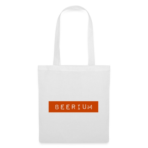 BEERIUM logo orange - Tygväska