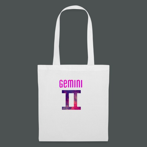 Galaxy gemini logo - Tote Bag