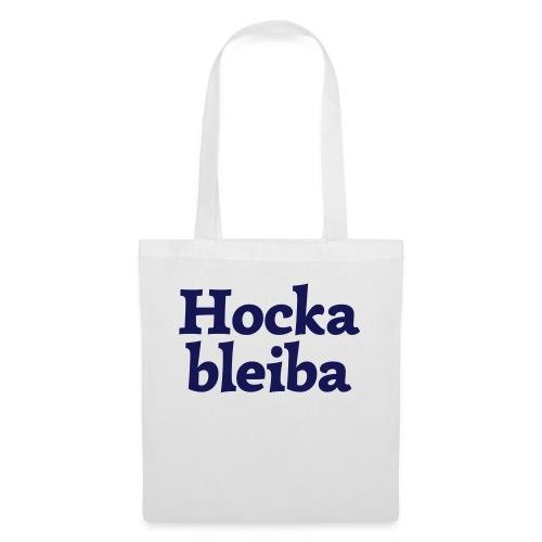 Hockableiba (hochdeutsch: Sitzenbleiber) - Stoffbeutel