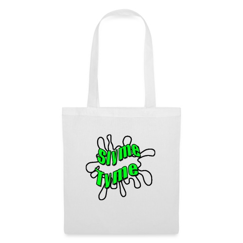 Slyme Tyme Logo / Green To White - Tote Bag