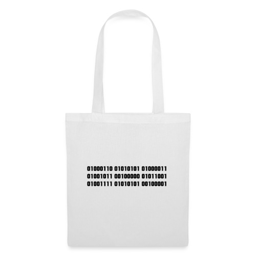 FUCK YOU in binary code - Tote Bag